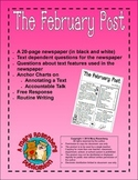 The February Post  Newspaper that Supports the Common Core State Standards