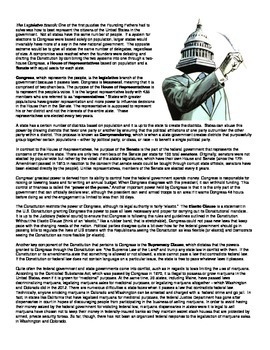 The Federal Government (Notes)