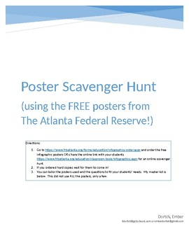 The Federal Reserve Free Poster Scavenger Hunt