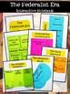 The Federalist Era Interactive Notebook