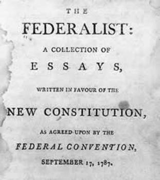 The Federalist Papers - English Unit - Student Packet