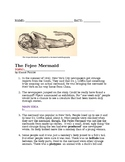 The Feejee Mermaid Special Education Writing Exercise