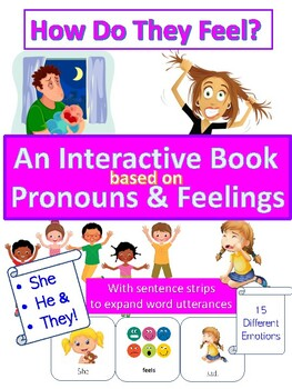 The Feelings Book - How does he/she/they feel?