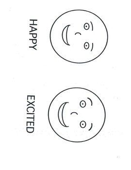 The Feelings Circle Mini-Posters Grade 3-6 (Human faces)