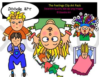 The Feelings Clipart Pack