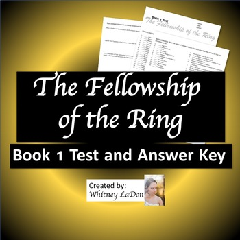 The Fellowship of the Ring: Book 1 Test