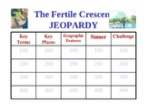 The Fertile Crescent Jeopardy Game Ancient Egypt
