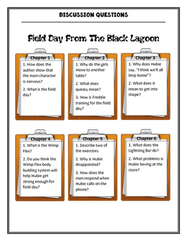The Field Day from the Black Lagoon Discussion Questions