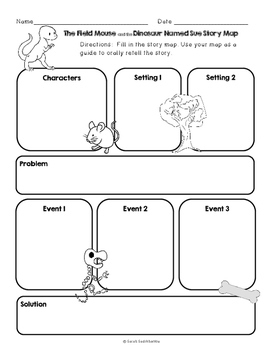 The Field Mouse and the Dinosaur Named Sue by Jan Wahl Reading Plan Level J