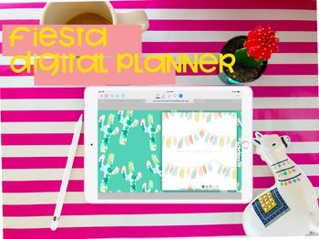 The Fiesta Digital Planner