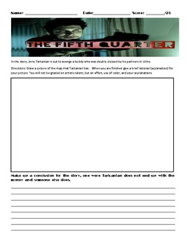 The Fifth Quarter by Stephen King Assignment