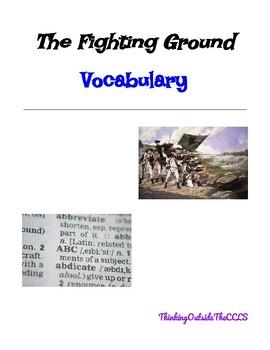 The Fighting Ground Vocabulary