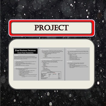 The Final Business Decisions Project