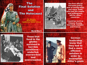 The Final Solution - The Holocaust - World War II