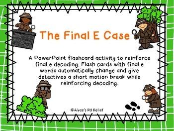 The Final e Case