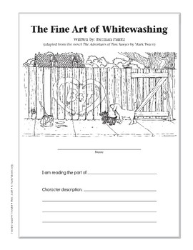 The Fine Art of Whitewashing (Leveled Readers' Theater, Grade 5)