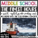 The Finest Hours Non-Fiction Middle School Reading Unit Novel Study