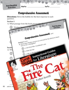 The Fire Cat Comprehension Assessment