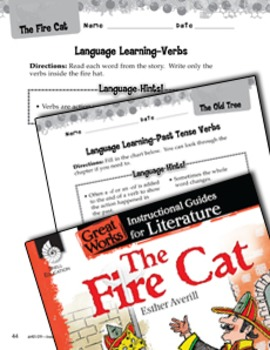 The Fire Cat Language Learning Activities