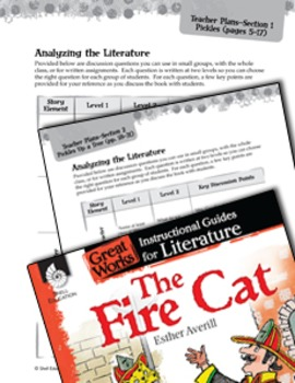 The Fire Cat Leveled Comprehension Questions