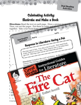 The Fire Cat Post-Reading Activities