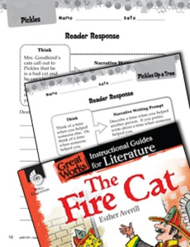 The Fire Cat Reader Response Writing Prompts