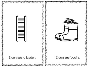 The Fire Station - Emergent Reader Little Book Community Helpers