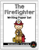 The Firefighter Writing Paper Set
