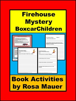 The Firehouse Mystery (Boxcar Children 56) Book Unit