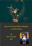 The Firework-Maker's Daughter Quiz