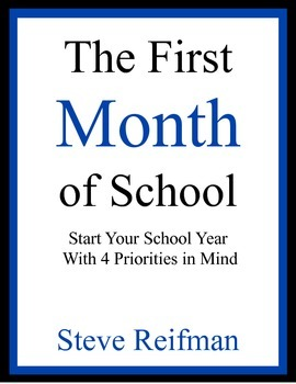 The First Month of School: Start Your School Year with 4 Priorities in Mind