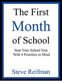 The First Month of School: Start Your School Year with 4 P