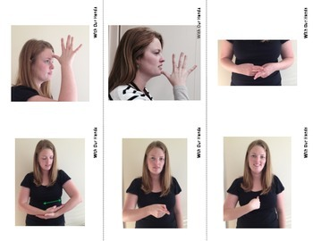The First 48 Nouns (ASL) Sign Language Vocabulary Cards fo