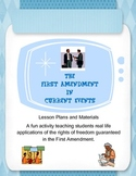 The First Amendment in Current Events