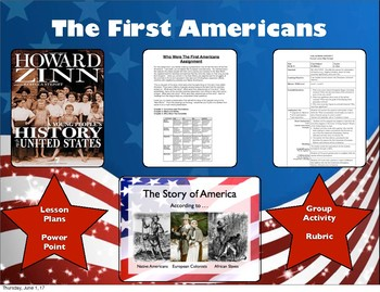 The First Americans/13 Colonies