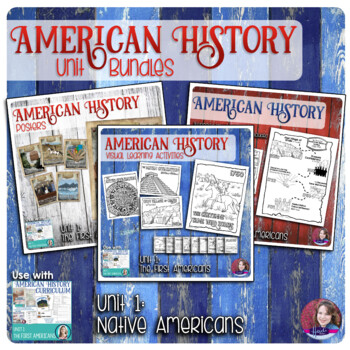 The First Americans Activities Bundle - US History