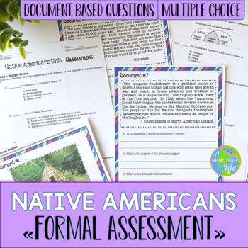 Native Americans Quiz/Test