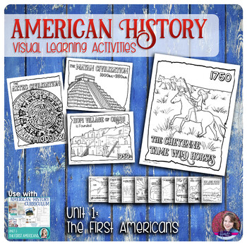 Native Americans Coloring Activities - US History