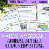 Native Americans - Southeast, Great Basin, Plateau, Northwest Coast