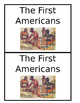 The First Americans booklet