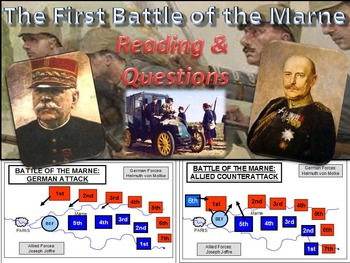 The First Battle of the Marne Reading & Questions