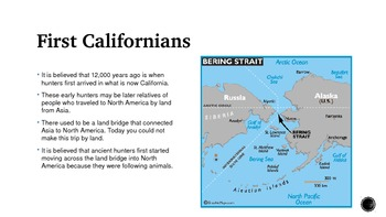The First Californians