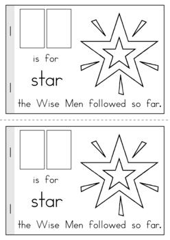 The First Christmas - A beginning sounds reader