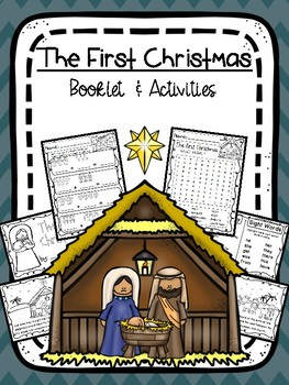 The First Christmas - Booklet & Activities - Low Prep!