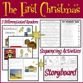 Christmas Nativity Story | Easy Reader | Sequencing