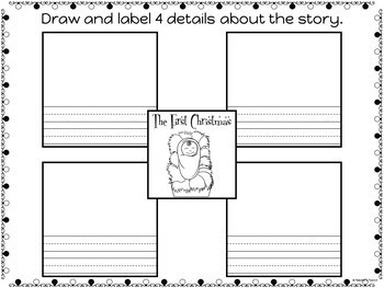 The First Christmas Story Retold: Part 3 Write and Draw