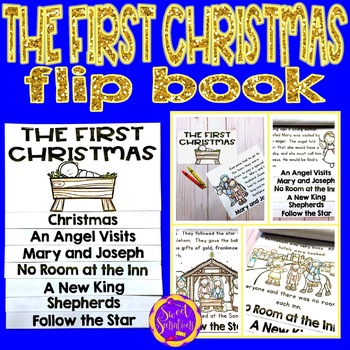 The First Christmas flip book