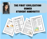 The First Civilization: Sumer, (with Word Search Activity!)