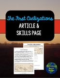 Early Civilizations Article & Skills Page