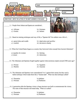 Mankind The Story of All of Us - The First Civilizations Study Guide and TEST